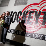 Image for Meagan & Jason: Masonic Temple Detroit Wedding & Reception with Joe Louis Arena & Ford Field extras.