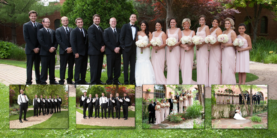 Trinity Church of Livonia Evangelical Livonia MI wedding photograph