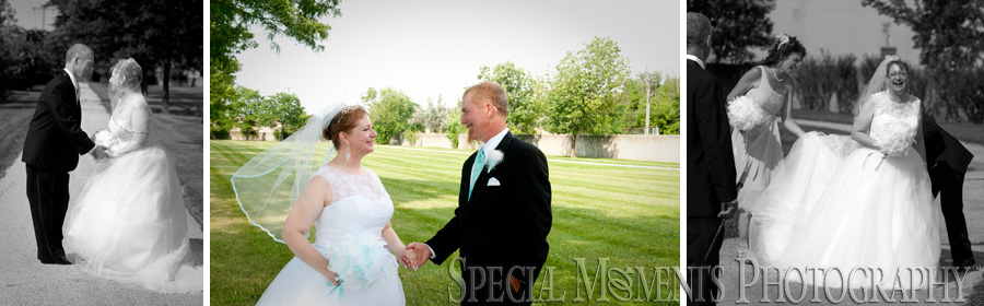 Oddfellows Hall Eastpointe MI wedding photograph