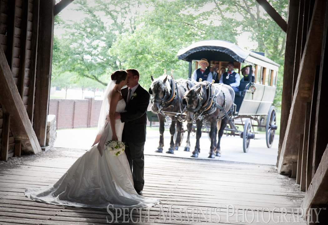 Eagle Tavern Greenfield Village Dearborn MI wedding photograph