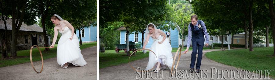 Mill Race Northville MI wedding photograph