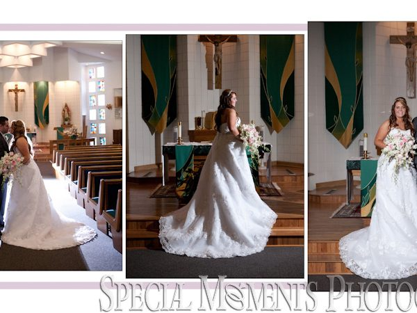 Chris & Anna Album Design: Holy Spirit Roman Catholic Brighton Wedding & Knights of Columbus Dexter Reception