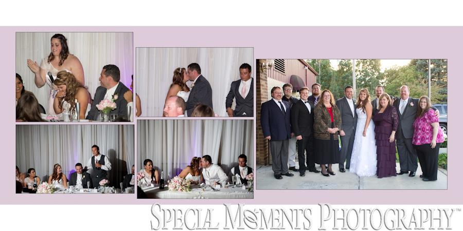 Knights of Columbus Dexter MI wedding photograph