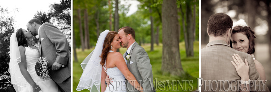 Solitude Links Golf Course Kimball Port Huron MI wedding photograph