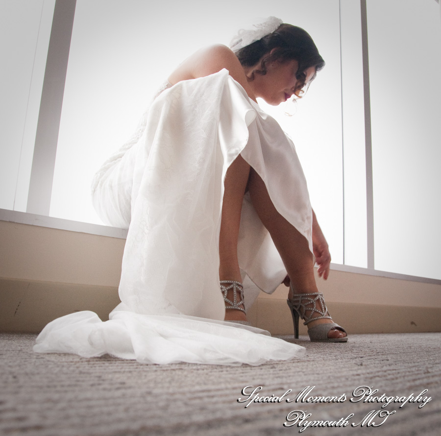 Greektown Casino Hotel Detroit MI wedding photograph