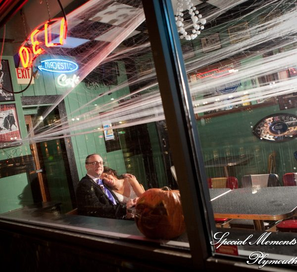 Jamie & Conor's Majestic Theater Wedding Detroit MI