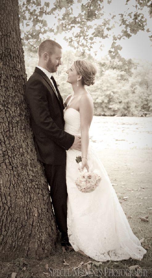 Downtown Plymouth MI wedding photograph