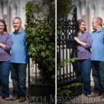 Kellogg Park Downtown Plymouth Engagement photography
