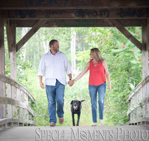 Shawna & Robert's Engagement Photos at Long Park Commerce Twp MI