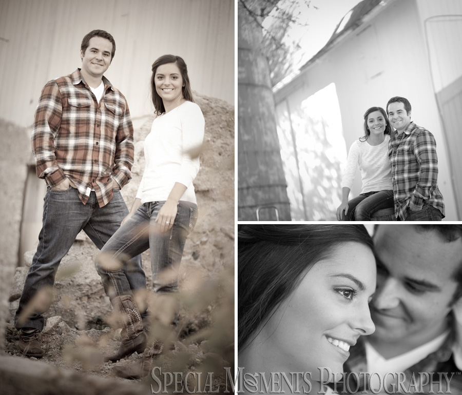 Home engagement photography