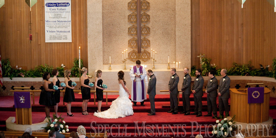 Trinity Lutheran Wyandotte wedding photography