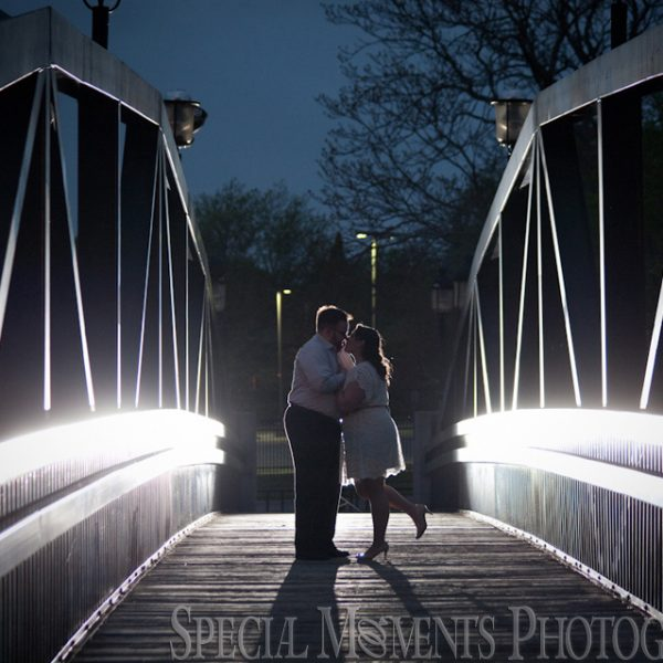 Samantha & Duane's Holly Recreation Area Engagement Photos in MI