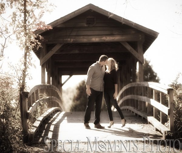 Jessica & Marshall's Michigan Engagement Photos at Long Park Commerce Twp MI