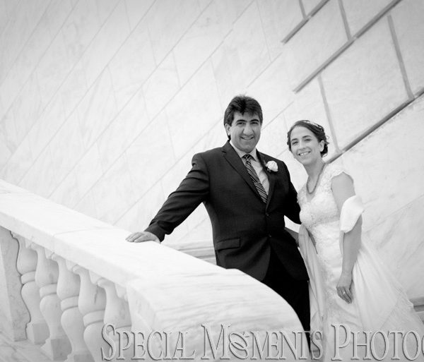 The Whitney Wedding of Amanda & Suren in Detroit MI