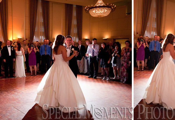 Shannon & Jacob's Wedding: Inn at St. John Grande Ballroom Plymouth MI