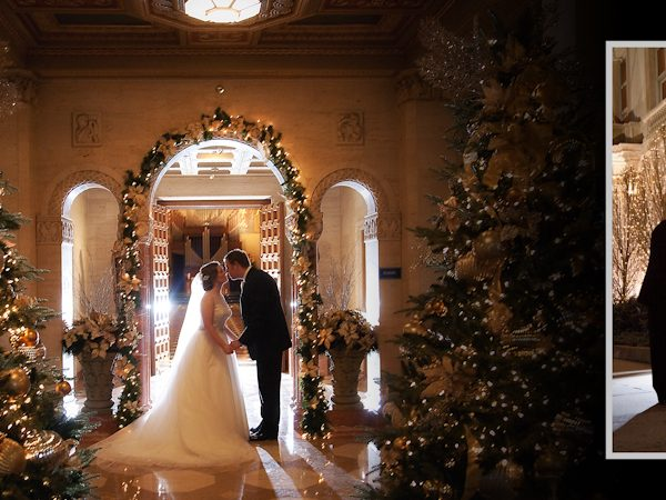 Brian & Katie's Winter Wedding Reception at The Detroit Athletic Club in Downtown Detroit
