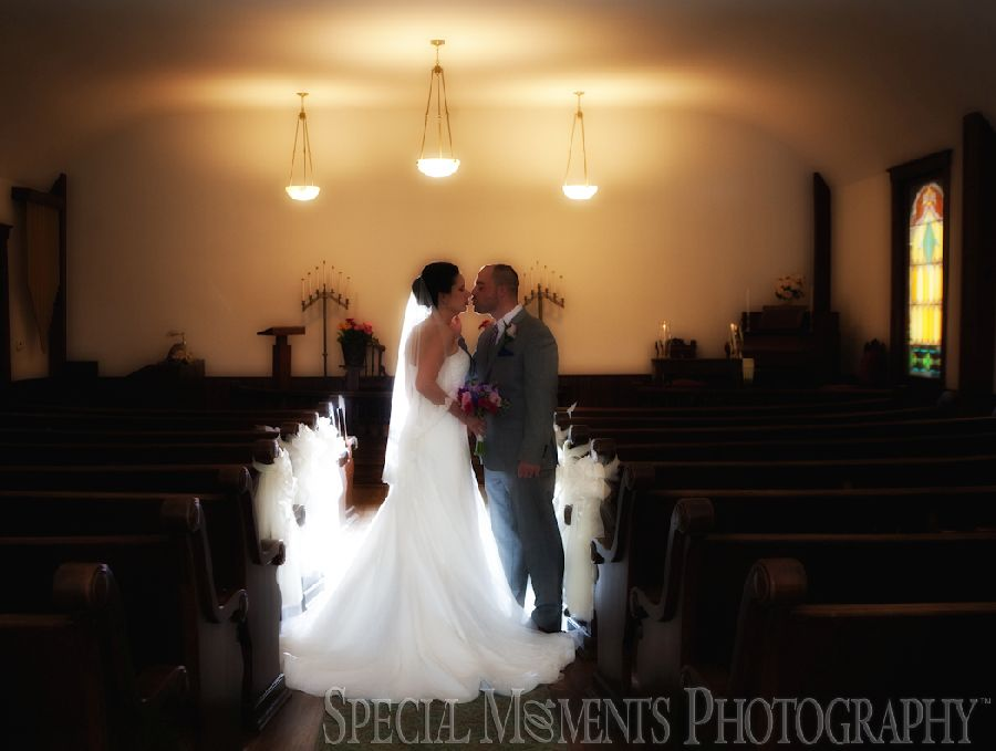 Greenmead Village Chapel Livonia MI wedding photograph