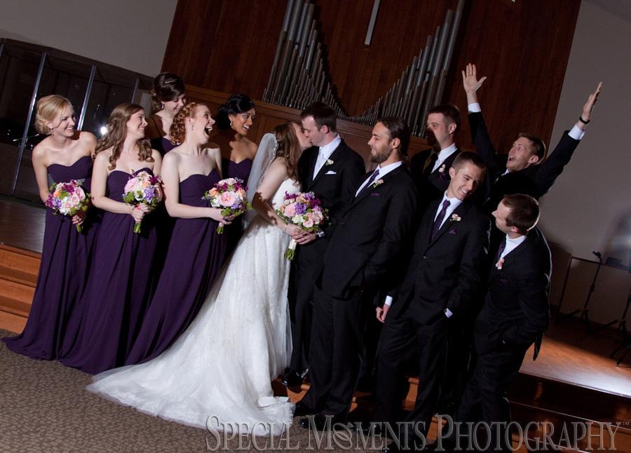 Huron Hills Baptist Ann Arbor MI wedding photograph