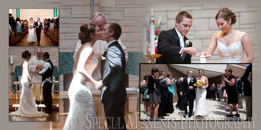 Our Lady of the Lakes Wedding Waterford MI photograph