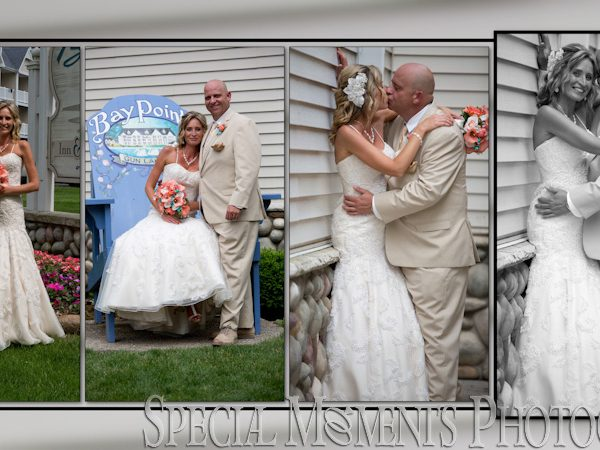 Scott & Melissa's Wedding Album Design from Bay Pointe Inn Shelbyville MI