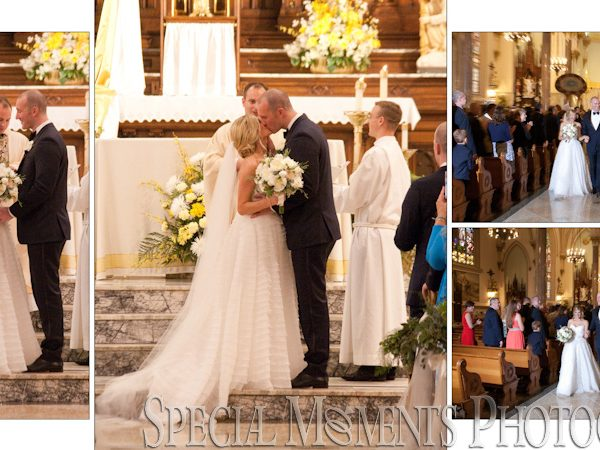 Jason & Julianne's Historic Church of St Patrick Toledo Wedding Album Design