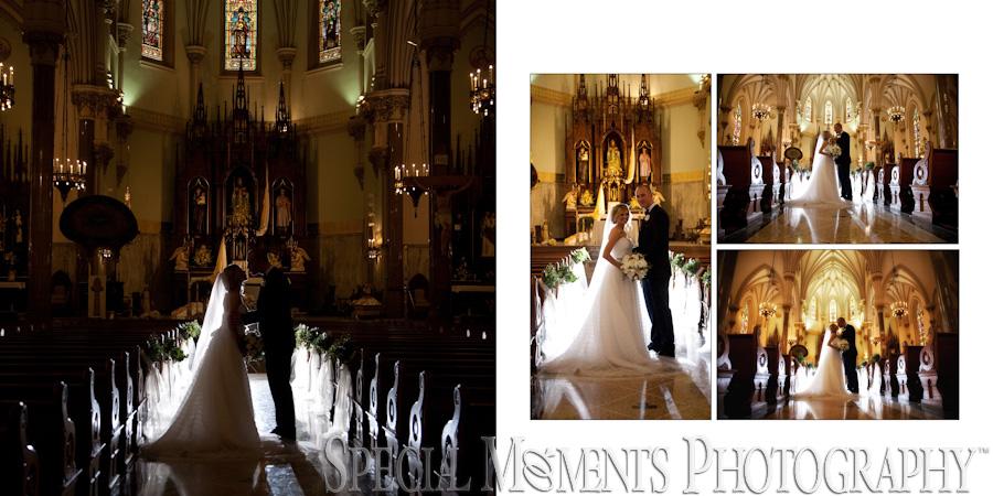 Historic Church of St Patrick Toledo Wedding Toledo OHgraph
