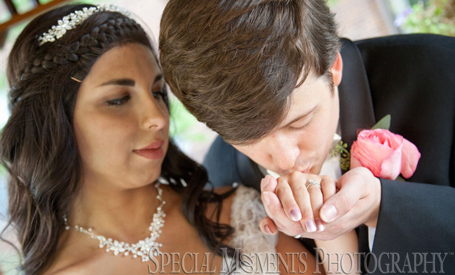 St. Clare of Montefalco Grosse Pointe Park MI wedding photograph