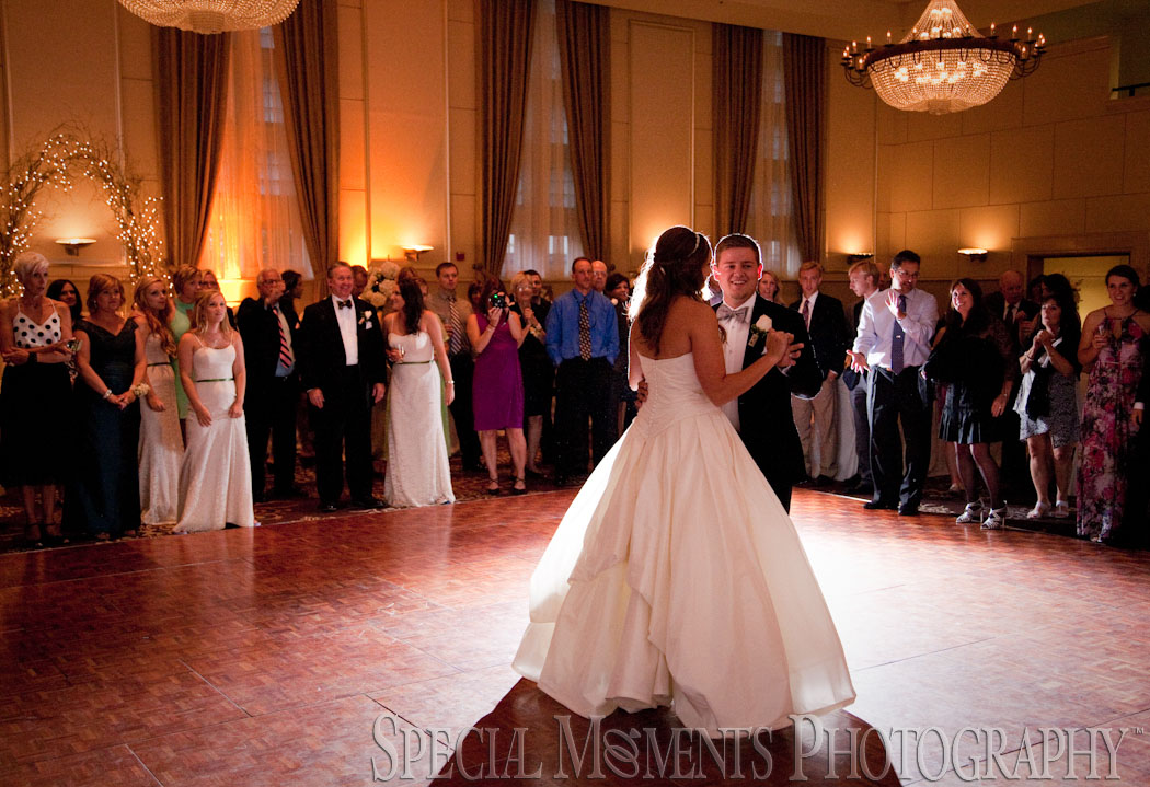 Inn At St. John Grand Ballroom Plymouth MI wedding photograph