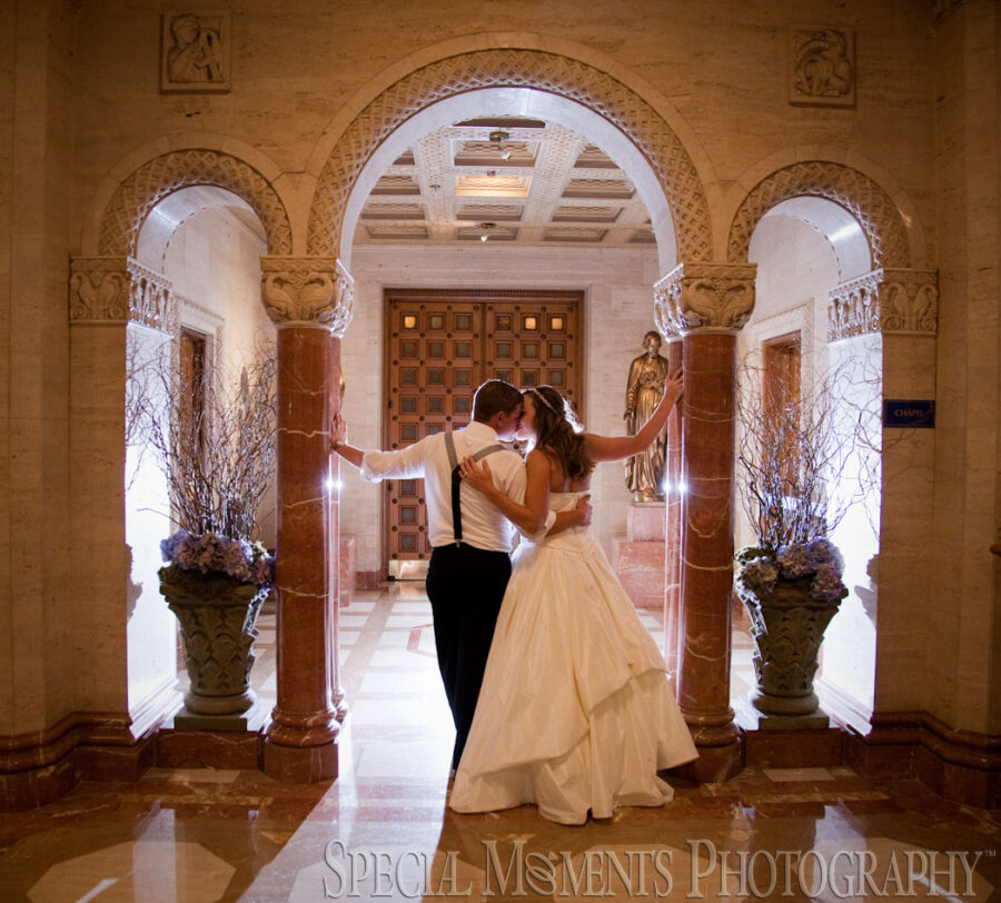 Inn At St. John Grand Ballroom Plymouth MI wedding photograph