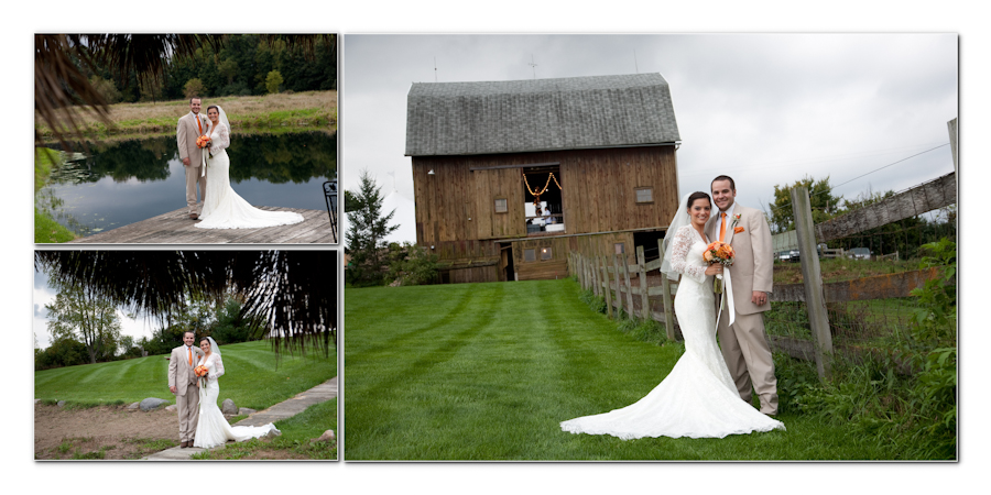 Fine Art Simple Design Style - Misty Farm Events Ann Arbor MI wedding photograph