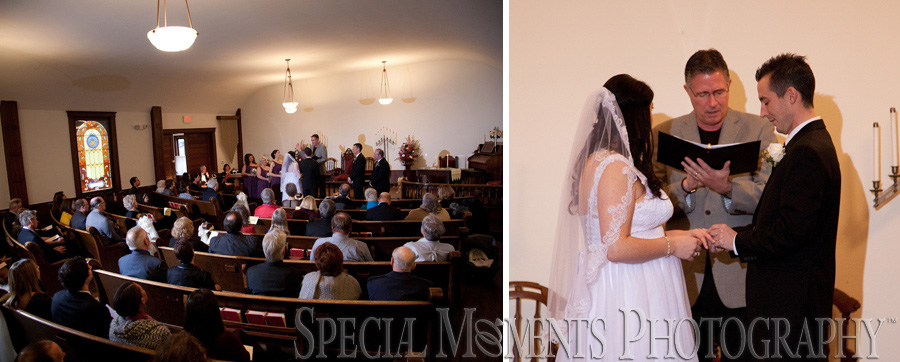Greenmead Church Livonia MI wedding photograph