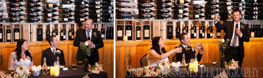Cantoro's Trattoria & Market Plymouth MI wedding photograph