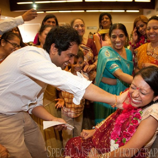 Swati & Pratik's Shrimant Ceremony at Plymouth Cultural Center Plymouth MI