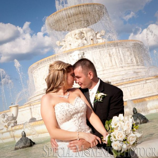 Heather & Marcin's Shrine of the Little Flower Wedding Royal Oak MI & Detroit Yacht Club on Belle Isle