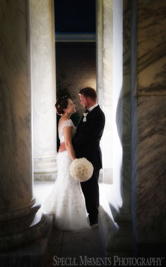 Henry Ford & Lovett Hall Dearborn MI wedding photograph