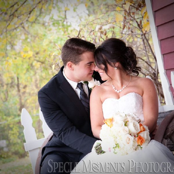 Brianne & Patrick's Kings Court Castle Wedding Lake Orion MI On A Gorgeous Fall Day