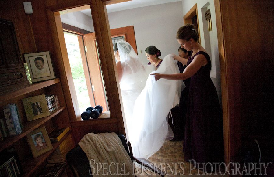 Home Getting Ready Northville MI wedding photograph