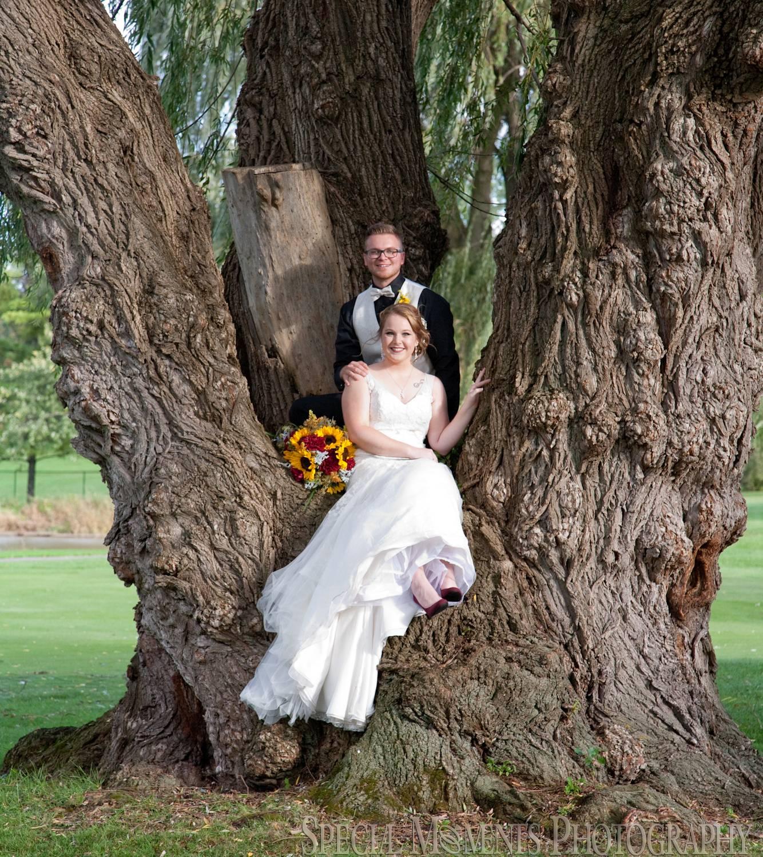 Polo Fields AT Washtenaw CC Ypsilanti MI wedding photograph