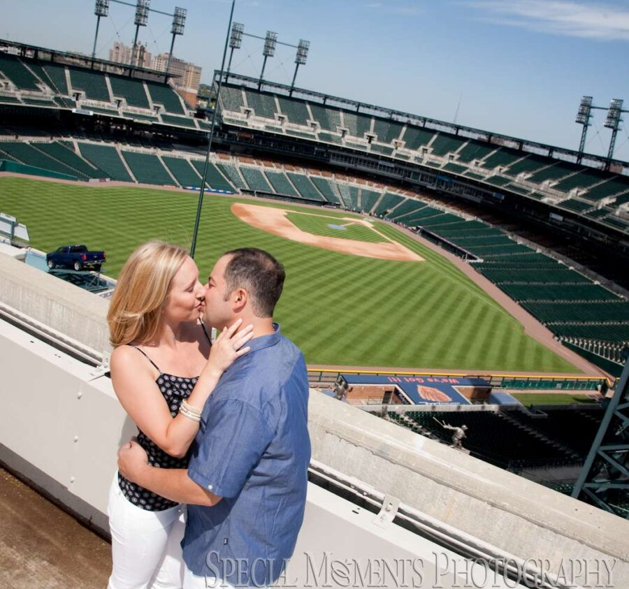Detroit Athletic Club Detroit MI engagement photograph