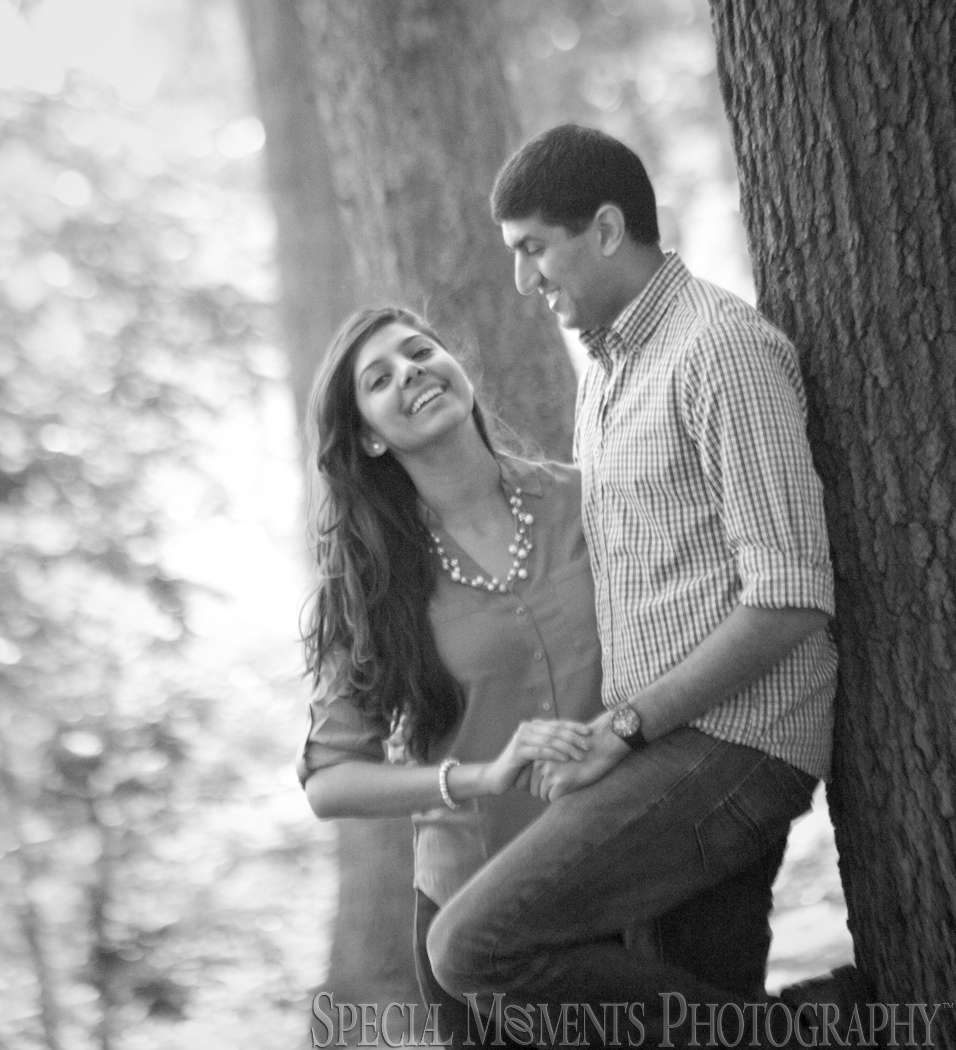 Royal Oak MI Engagement photograph