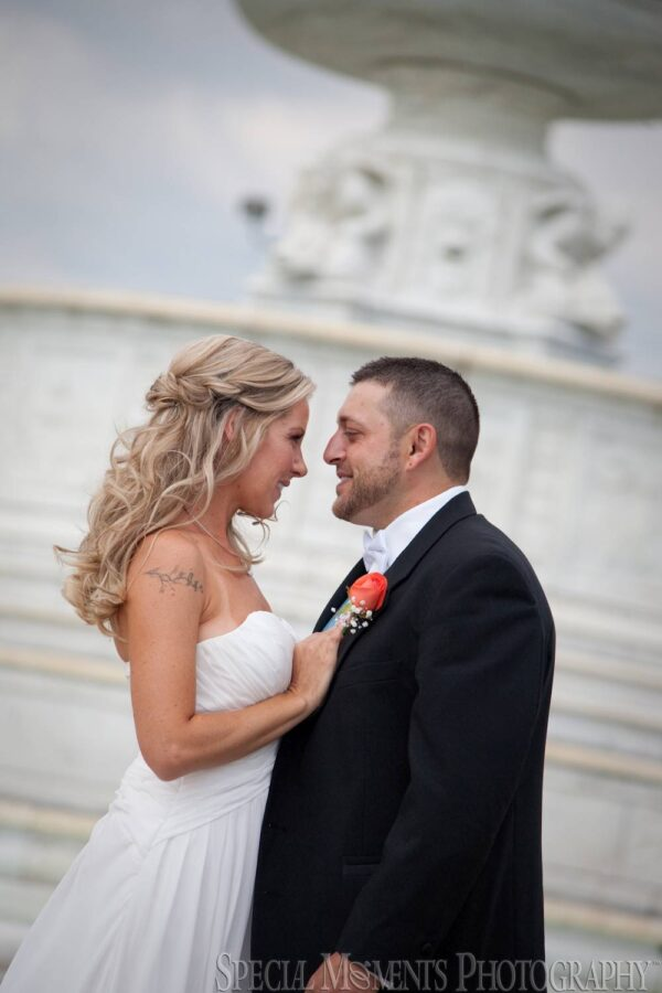 Belle Isle Conservatory Detroit MI wedding photograph