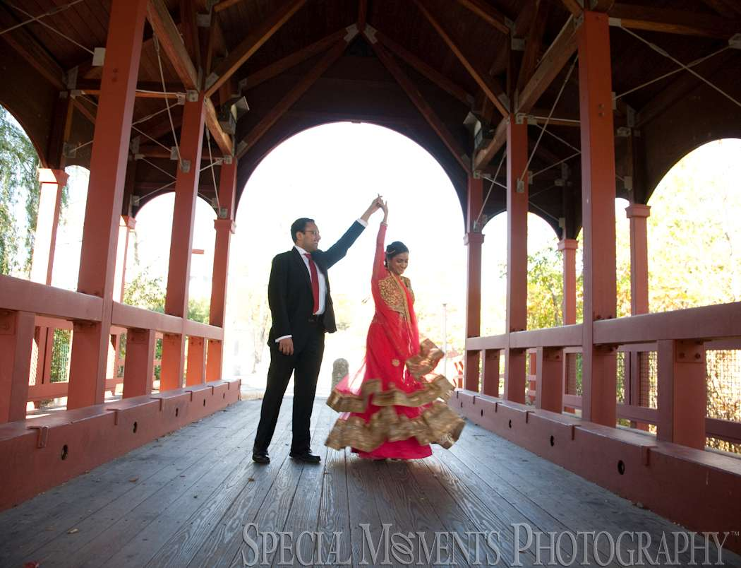 Ford Field Park Dearborn MI wedding photograph
