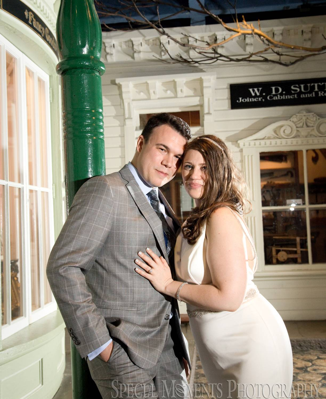 Detroit Historical Museum Detroit MI wedding photograph