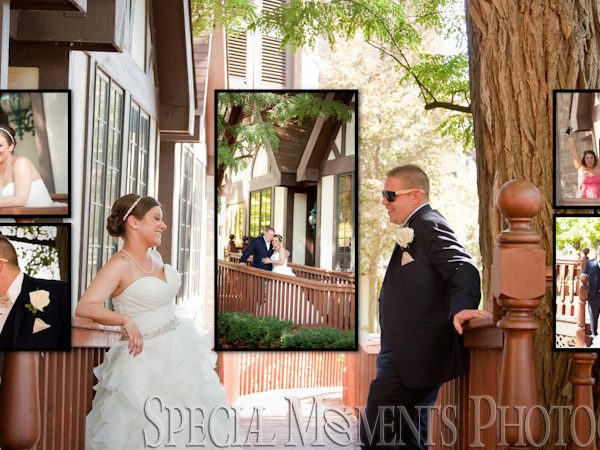 Nick & Sarah Wedding Album Design: Kings Court Castle Lake Orion