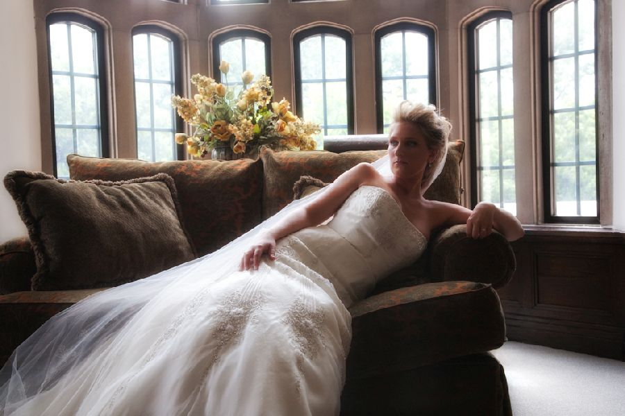 Detroit Yacht Club wedding photograph