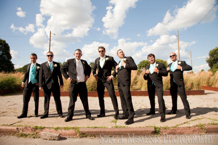 DIA & Train Station Downtown Detroit MI wedding photograph