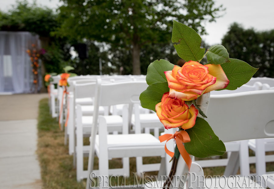 MSU Horticulture Garden East Lansing MI wedding photograph