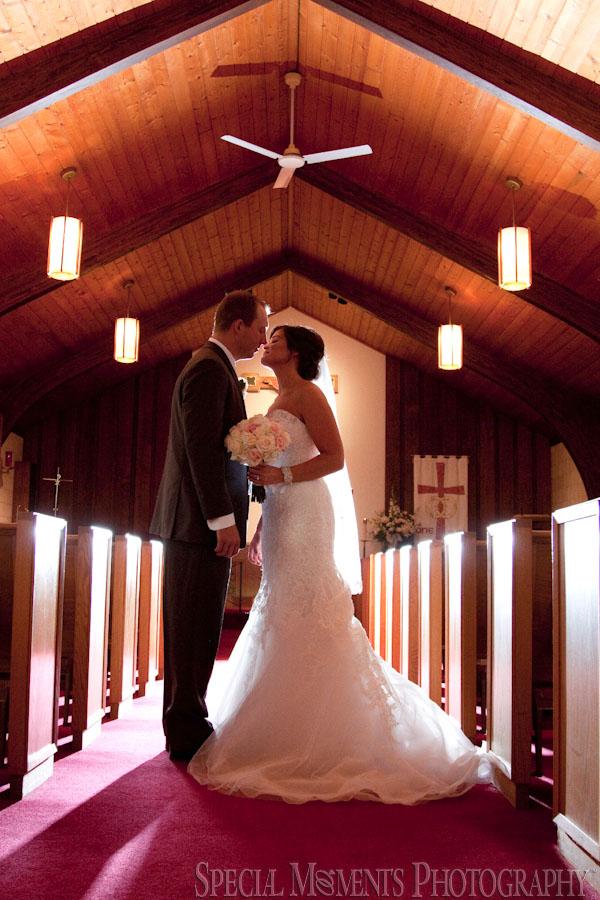 St. John Episcopal Church Howell MI wedding photograph