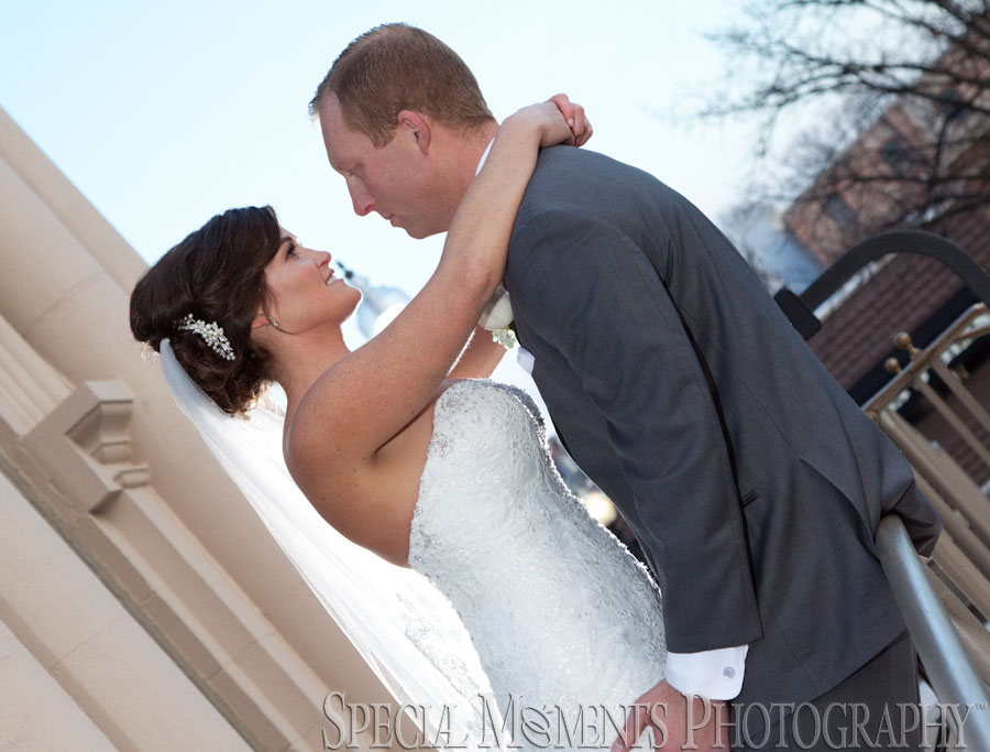 Downtown Howell MI wedding photograph
