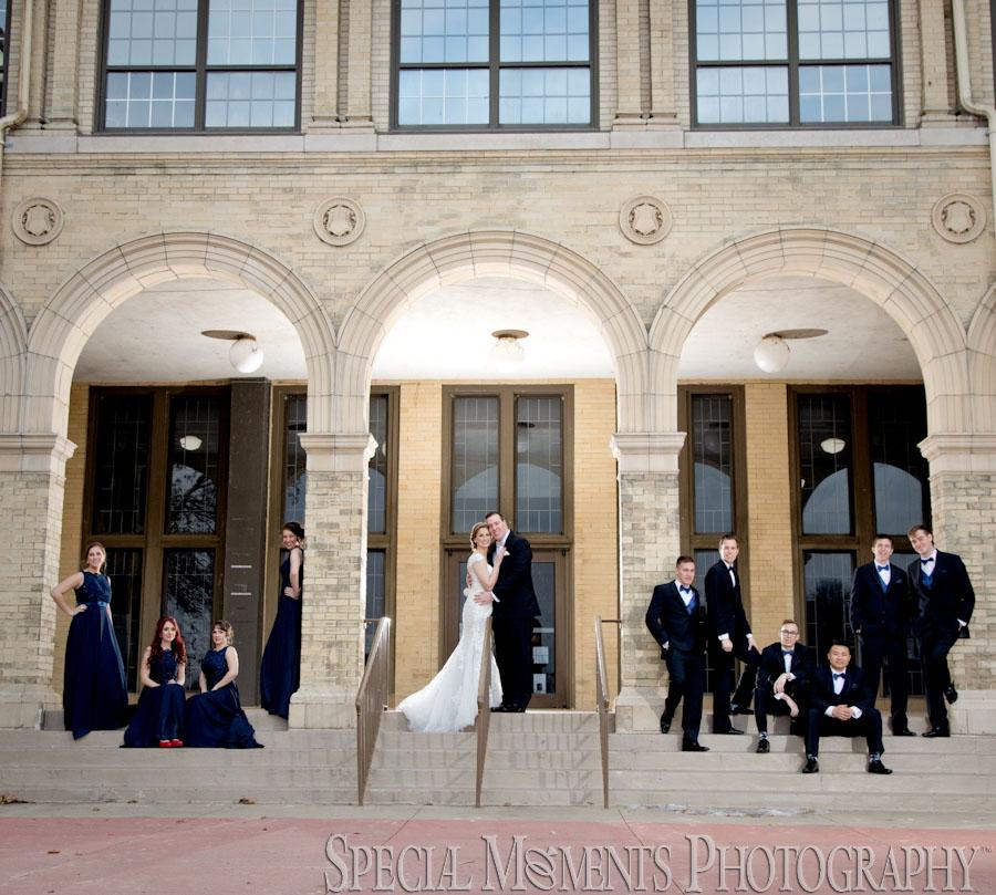 Belle Isle Detroit MI wedding photograph